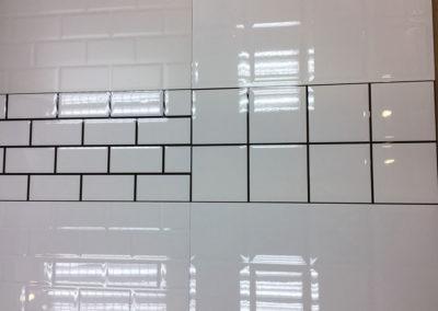 6007 瓷片 牆身磚 方格紋 質感