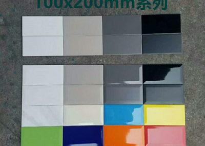 6102 瓷片 細尺寸牆身磚 朱古力磚